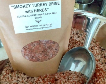 Smokey Turkey Brine Sea Salt & Herb Blend
