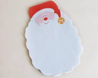 Santa Paper // Vintage Christmas Note Paper //  Vintage Santa Claus Paper // Santa's Beard
