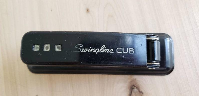 Vintage Black Stapler   Vintage Swingline Stapler  Vintage Industrial Supply
