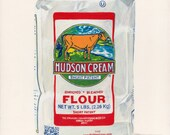 Flour. Original egg tempera illustration from 'The Taste of America' book.