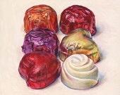 Chocolates 1. Giclée print.