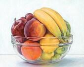 Fruit Spectrum. Limited edition giclée print.