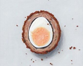 Scotch egg giclée print