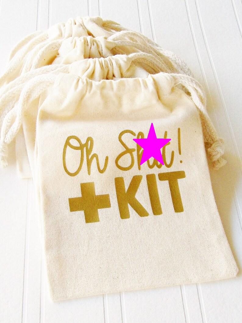 Oh Shit Kit Favor Bag Birthday Bachelorette 21st