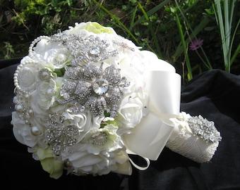 Full price-brooch bouquet, wedding, broach bouquet, bridal bouquet , bride bouquet, bride, wedding bouquet, table decor, bouquet, bridesmaid