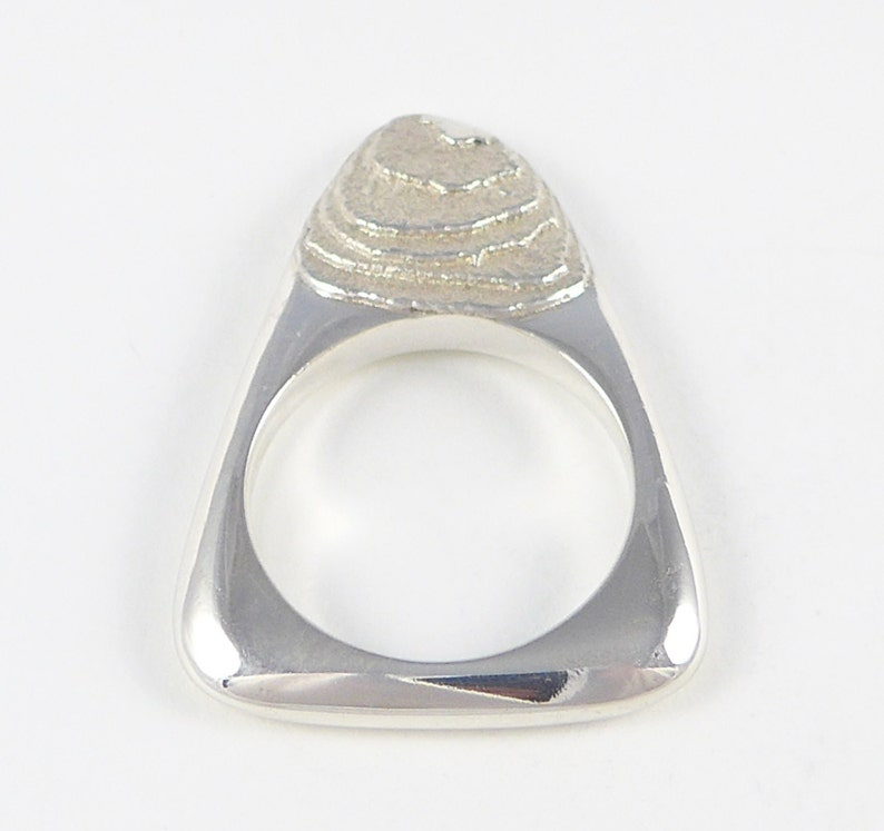 A 'bitte' ring in sterling silver image 0