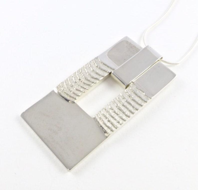 The Elegant Sea Pendant in sterling silver image 0