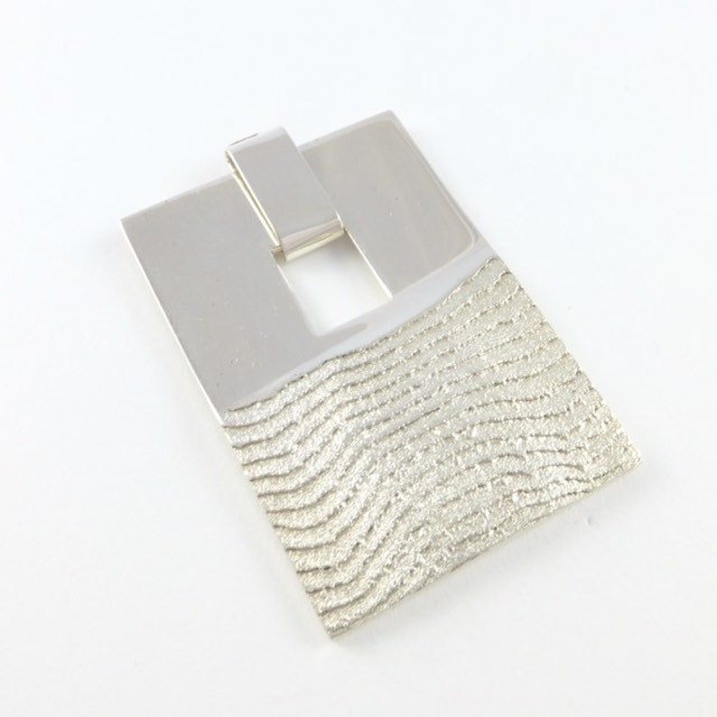 Post by the Sea  Sterling silver pendant image 0