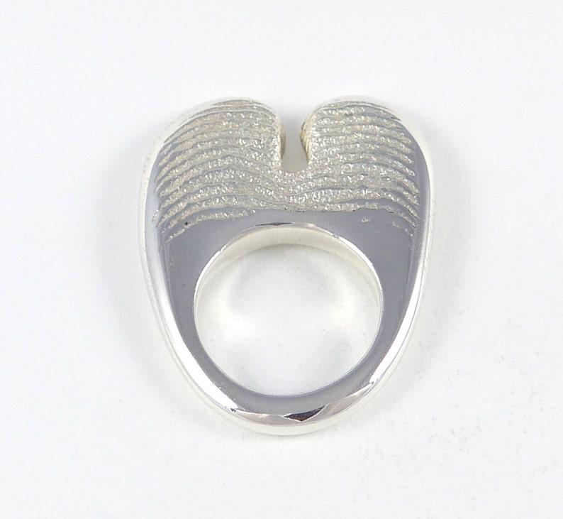 Olga  Sterling silver ring image 0