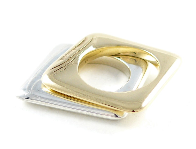 Golden sands 9ct yellow gold ring image 0