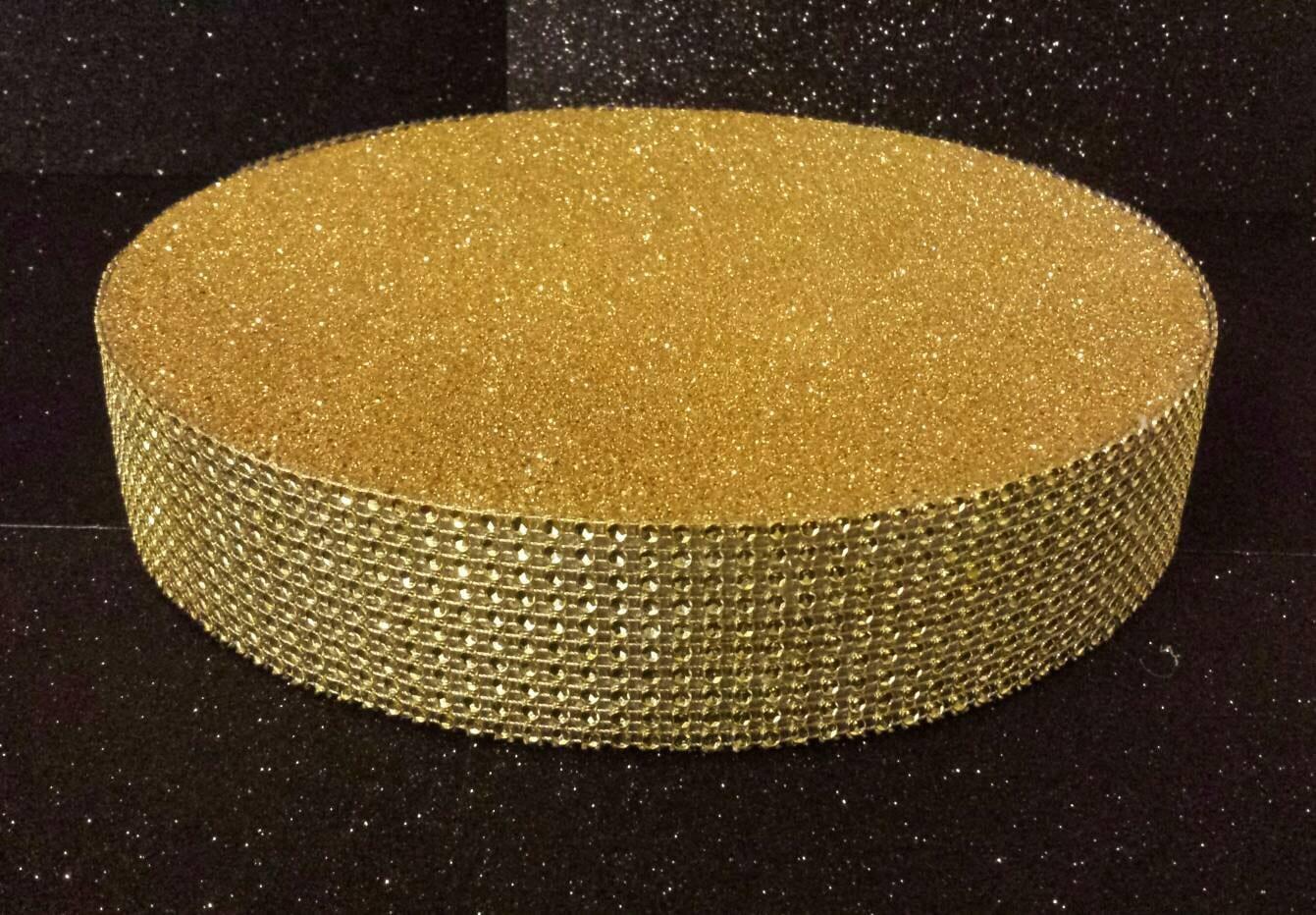 10 Gold Glitter Bling Diamond cake pop or Lollipop stand | Etsy