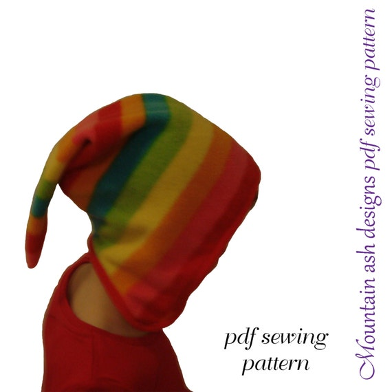 Pixie Hat Pattern Elf Hat Pattern Pixie Sewing Pattern Allie Etsy