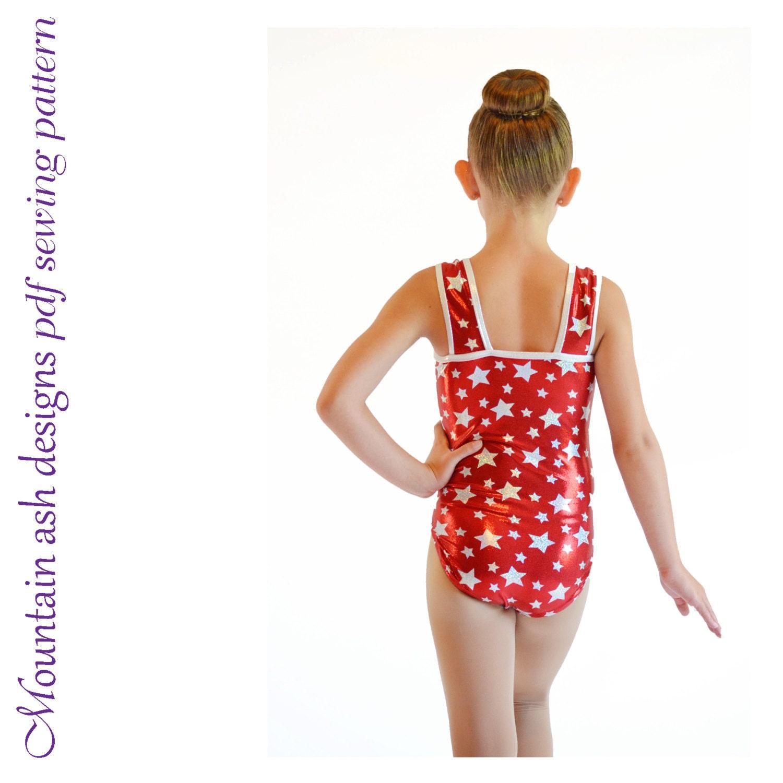 Leotards 11 pdf sewing pattern gymnastics gym ballet dance   Etsy