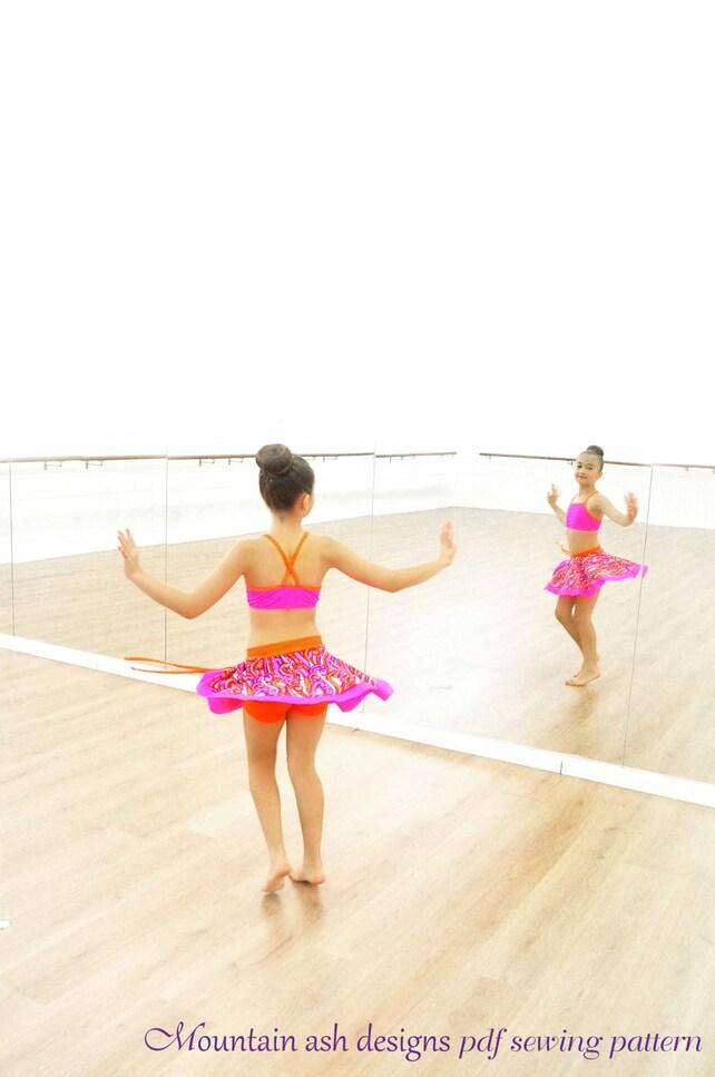 Isadora Skirts And Skorts Sewing Pattern Pdf Pattern Dance Etsy