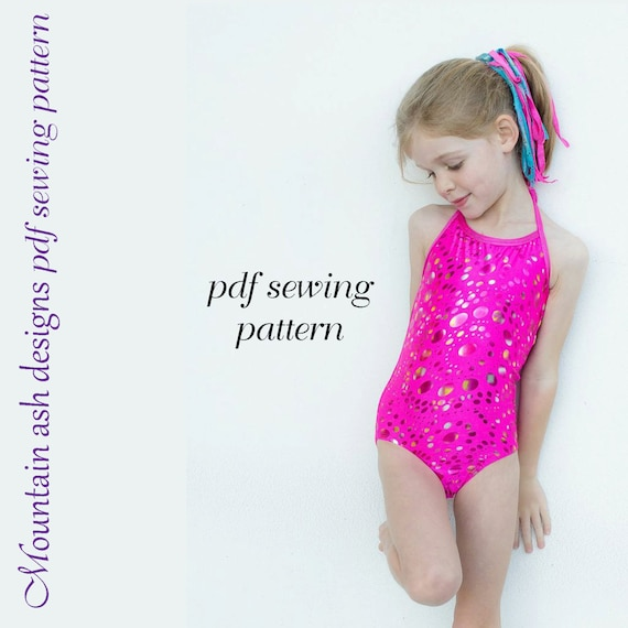 Alexis Leotards and swimsuits sewing pattern girls sizes 1-14   Etsy