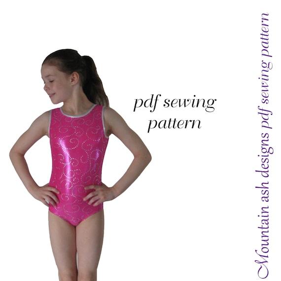 Leotard Pattern Leotards 40 Gymnastics Gym Ballet Dance Sewing Etsy Cool Leotard Pattern