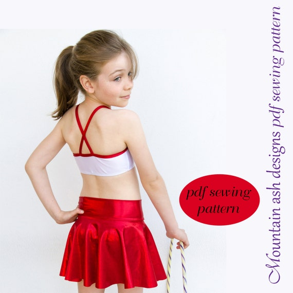 Dance Skirts pdf sewing pattern tutu skirt dance skirt Phoebe