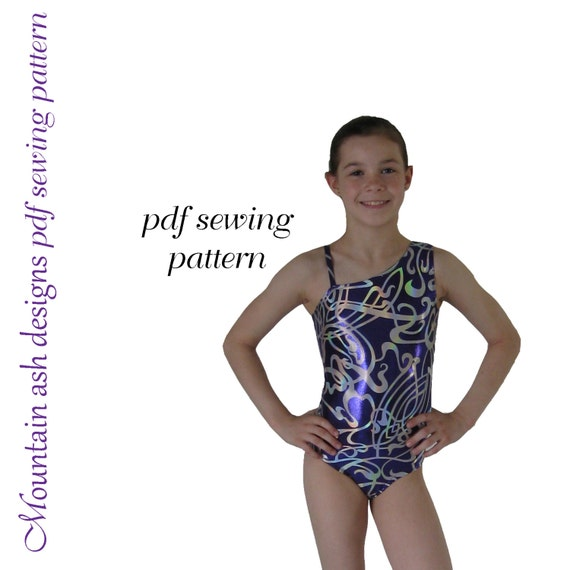 Leotards 3 Sewing pattern gymnastics leotard ballet jazz