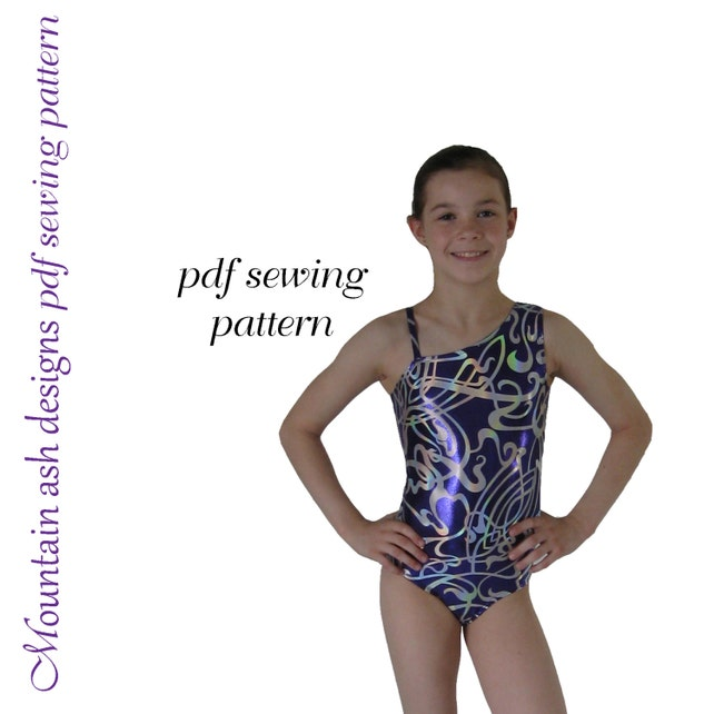 Leotards 3 Sewing Pattern Gymnastics Leotard Ballet Jazz Etsy