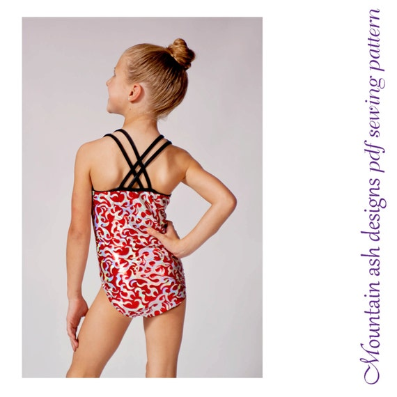 Cassidy swimsuit sewing pattern and leotard sewing pattern in   Etsy