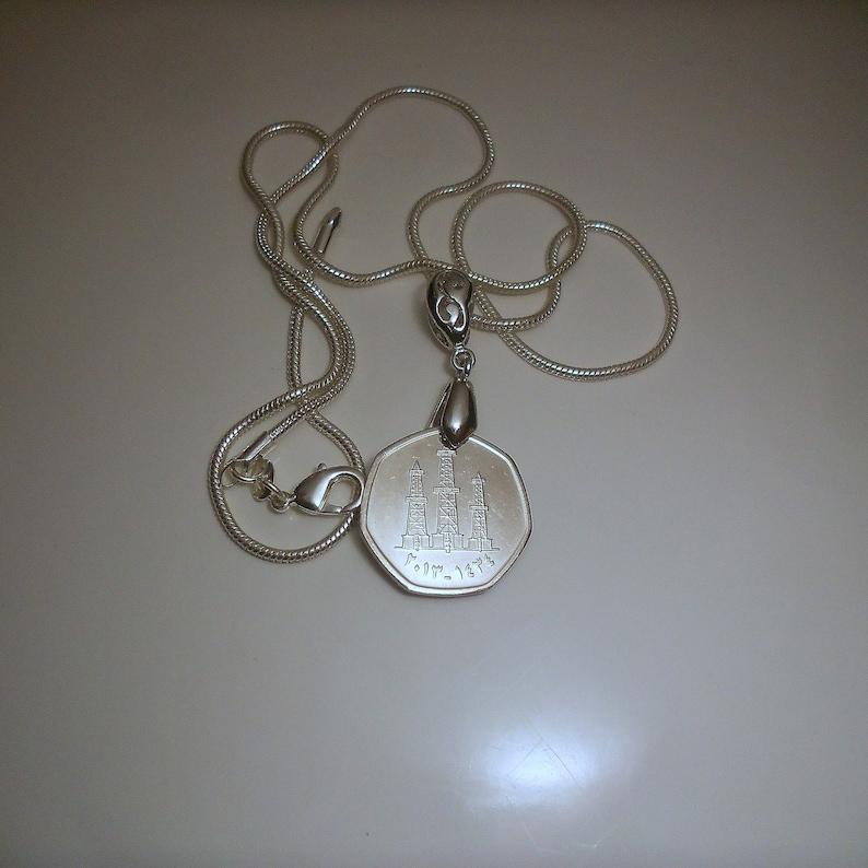 United Arab emirates Coin Pendant Necklace
