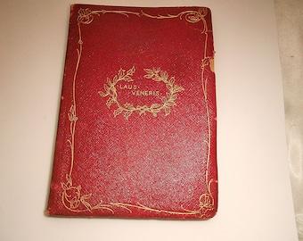 """Vintage Poetry Book """"Laus Veneris"""" by Algernon Charles Swinburne"""