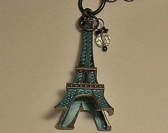 Eiffel Tower Charm Necklace