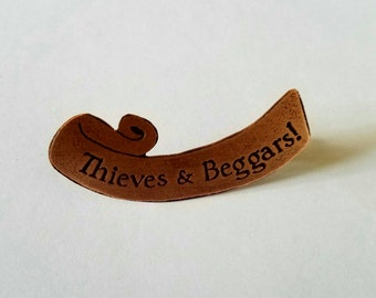 TRFF Thieves & Beggars Pin