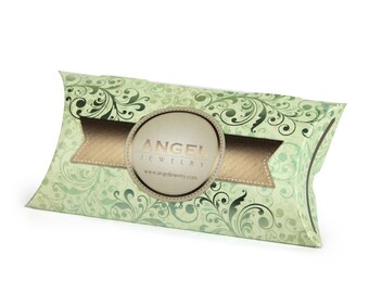 Custom printed pillow boxes branded packaging