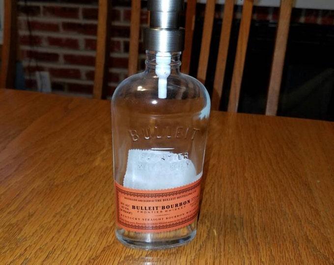 ONLY ONE LEFT>>>> Bulleit Bourbon 375ml Soap, Sanitizer or Lotion Dispenser
