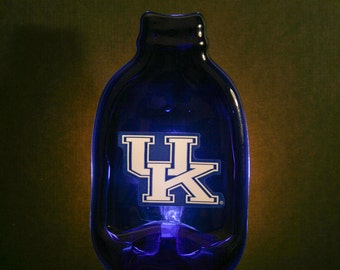 UK Melted MINI Bottle Night Light