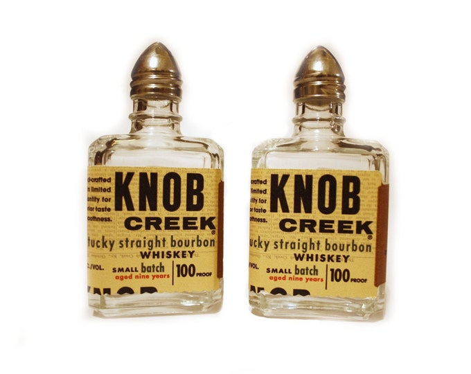ONE ONLY - Knob Creek Salt and Pepper Shakers