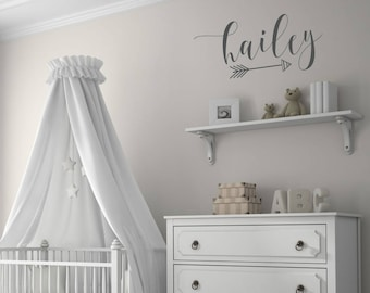 Personalized Name Decals for Wall | Name Decals for Nursery