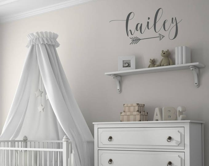 Featured listing image: Personalized Name Decals for Wall | Name Decals for Nursery