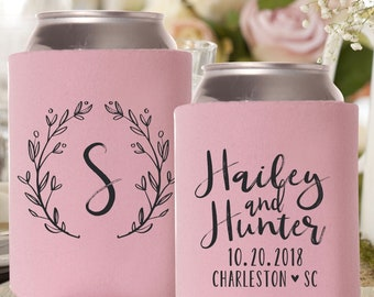 Can Cooler Wedding Favor | Personalized Can Cooler Wedding | Wedding Can Holders | FREE Shipping