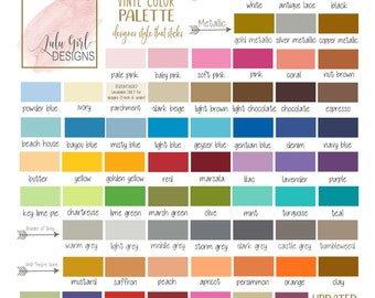 Oracal 631 Vinyl Color Samples | Color Swatch OR Sample Test Decal | Choose 5 Colors