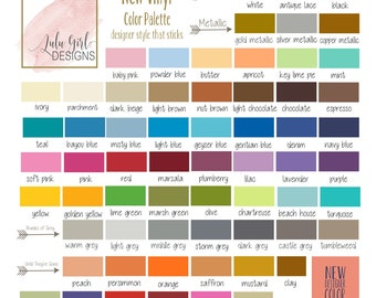 Oracal 631 Color Swatch | Vinyl Decal Sample | Test Decal