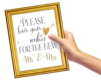 Wedding Guest Book Sign | DIY PRINTABLE | Instant Download