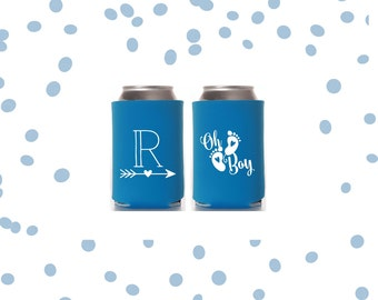 Gender Reveal Party Favor | Can Cooler | Oh Baby | Oh Boy | FREE Standard Shipping