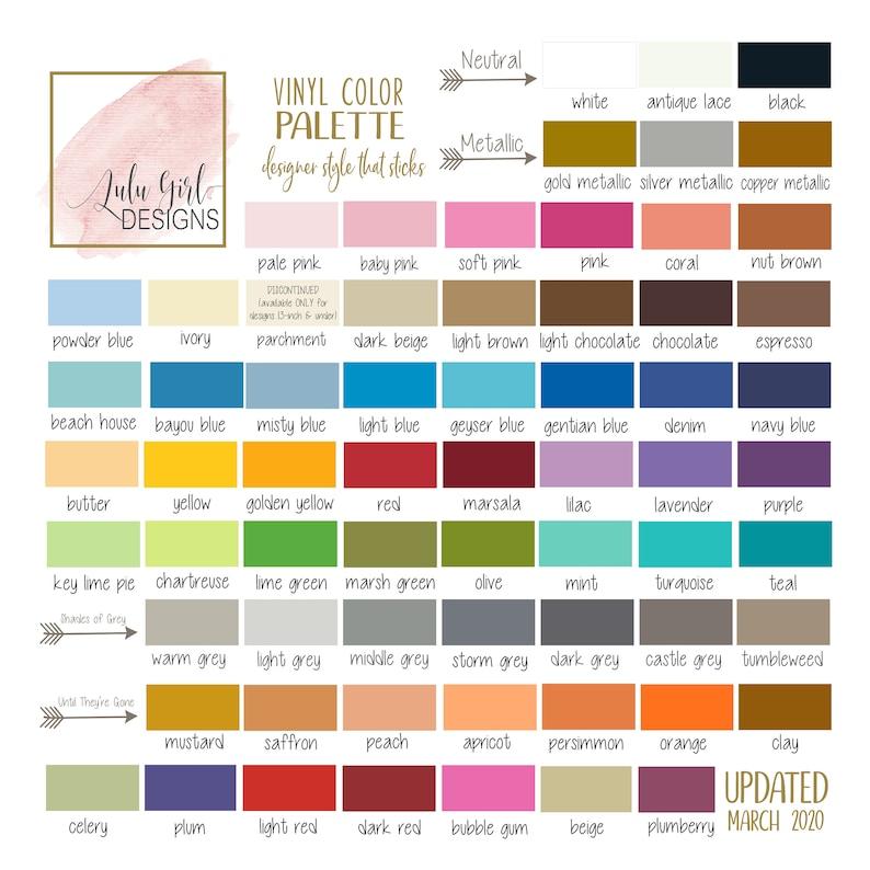 Oracal 631 Vinyl Color Samples  Color Swatch OR Sample Test image 0