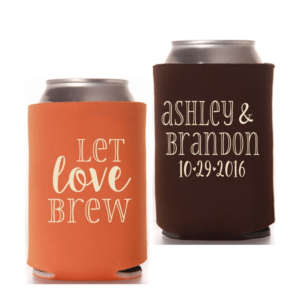 Wedding Can Coolers Let Love Brew The Perfect Brew