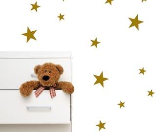 Star Wall Decals | Nursery Wall Decal | Boys Room Decor