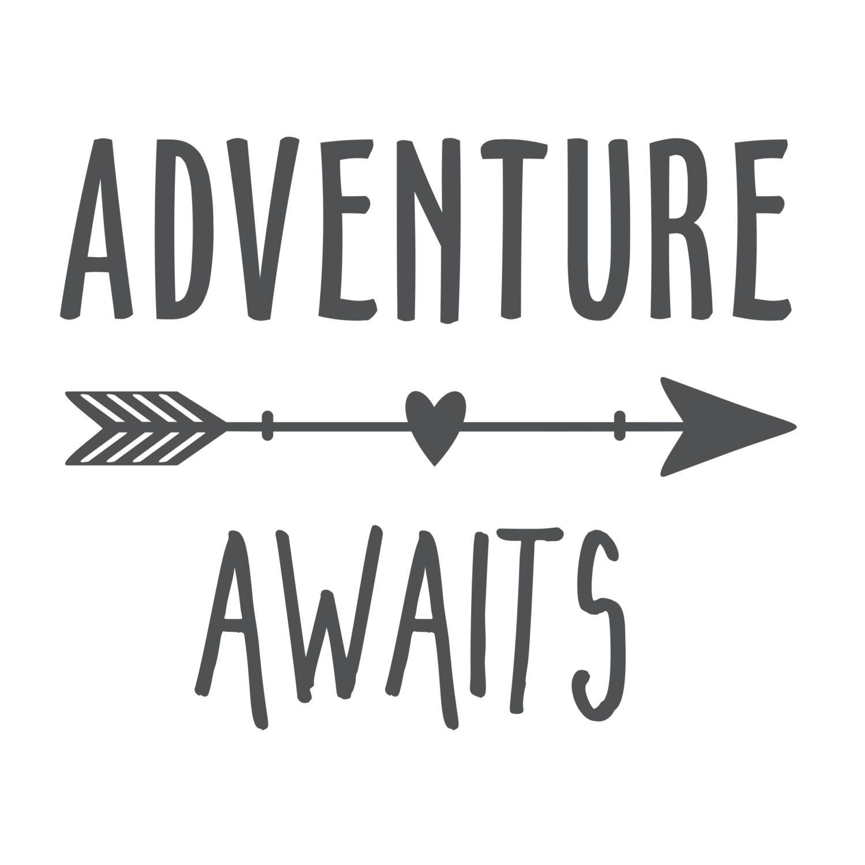 Life Is An Adventure Wall Decal Adventure Awaits Wall
