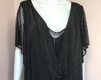 Amazing 1900's Black Gown