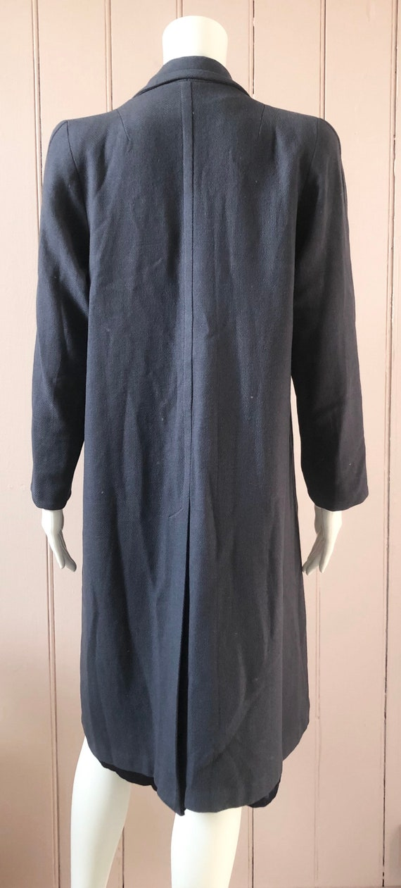 Reserved Fantastic 1940's Wool Coat - image 4