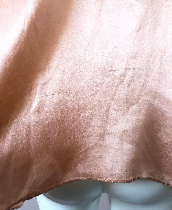 Sweet 1930's Silky Crepe Bolero - image 6