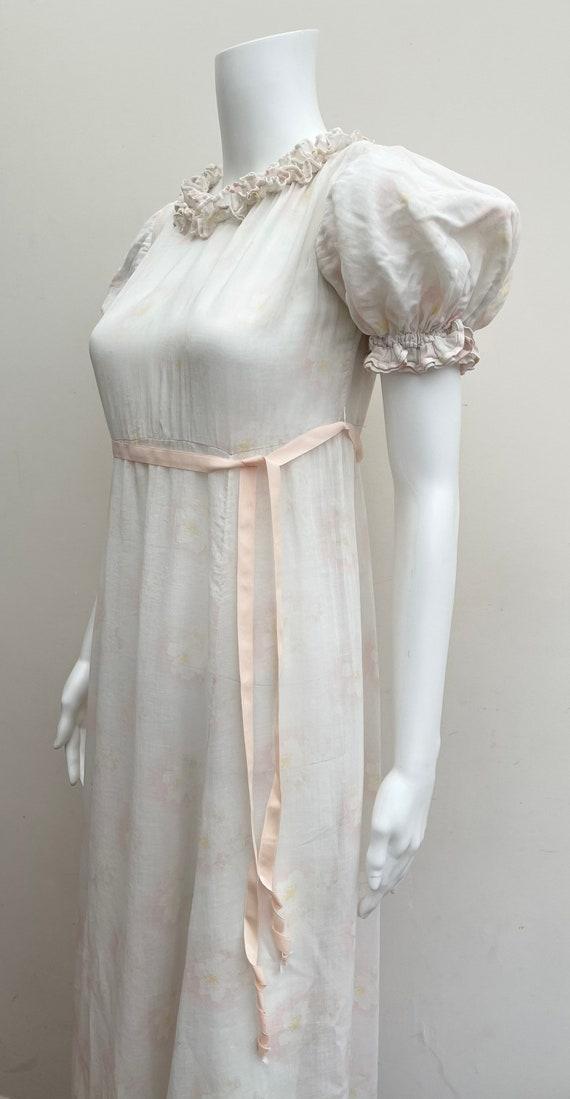 Pretty Cotton 1930's Floral Dress