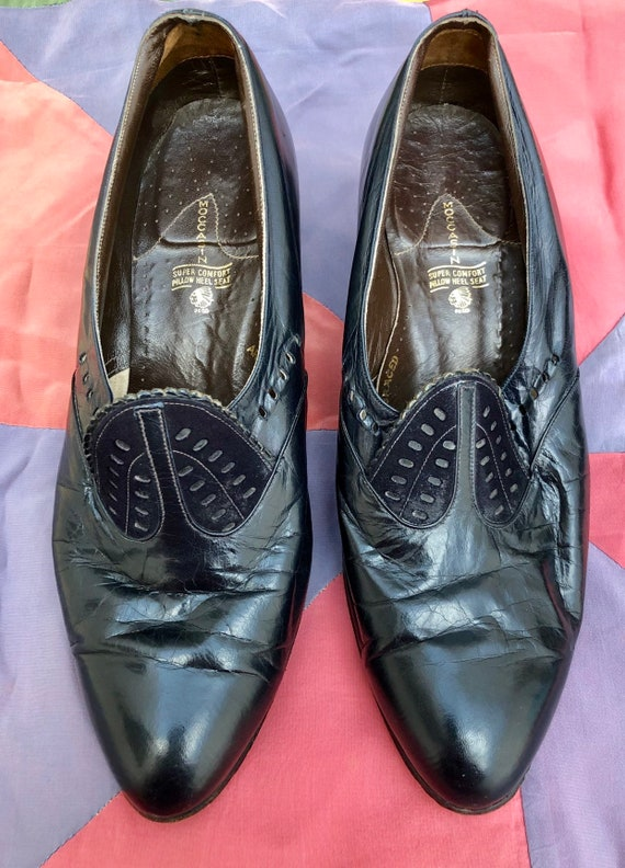 Lovely 1940's Leather Shoes