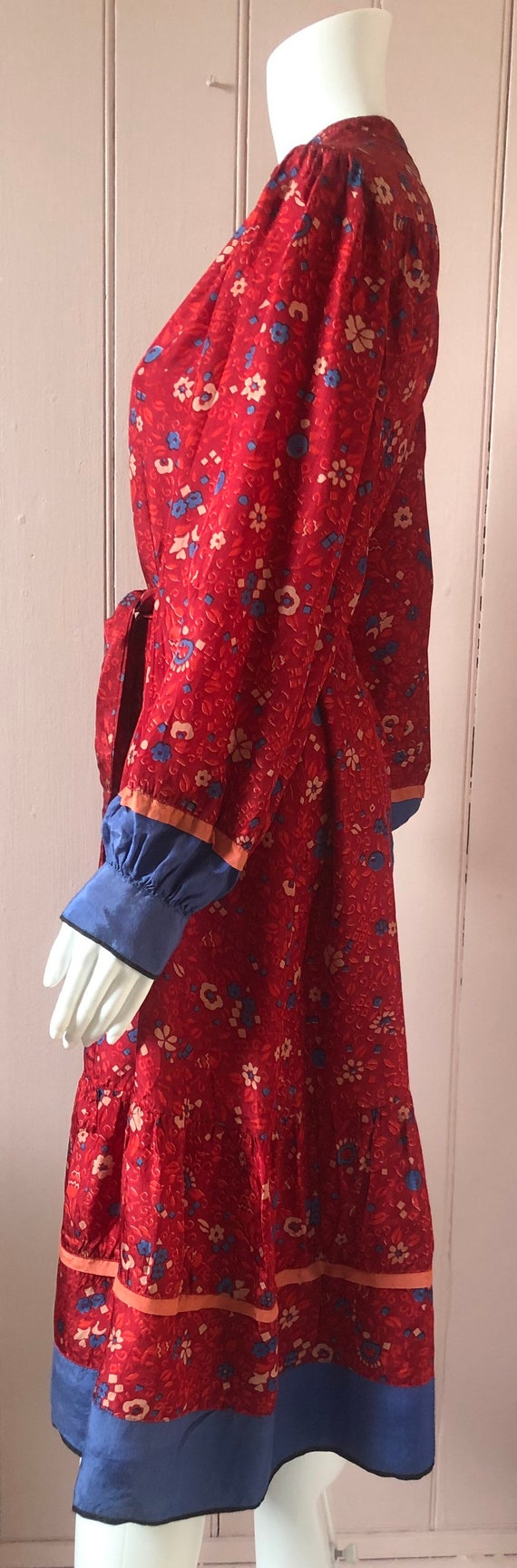 Lovely 1970's/80's Indian Dress - image 6