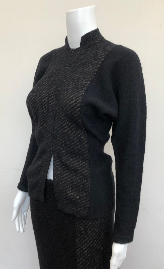 Fantastic 1940's Knitted Suit
